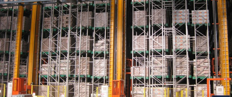 Automated High Bay Storing